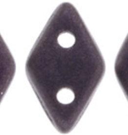 5 GM 4x6.5mm CzechMates Diamond : Metallic Suede - Dk Plum (APX 60 PCS)