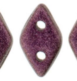 5 GM 4x6.5mm CzechMates Diamond : Metallic Suede - Pink (APX 60 PCS)
