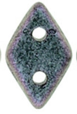 5 GM 4x6.5mm CzechMates Diamond : Polychrome - Orchid Olive (APX 60 PCS)