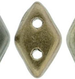 5 GM 4x6.5mm CzechMates Diamond : Matte - Metallic Leather (APX 60 PCS)
