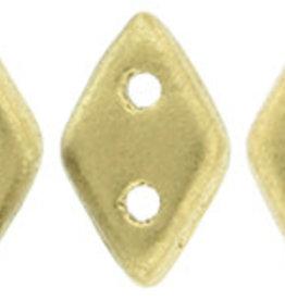 5 GM 4x6.5mm CzechMates Diamond : Matte - Metallic Flax (APX 60 PCS)