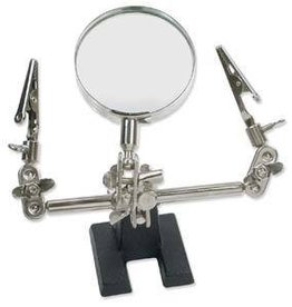 Third Hand with Alligator Clips & Magnifier