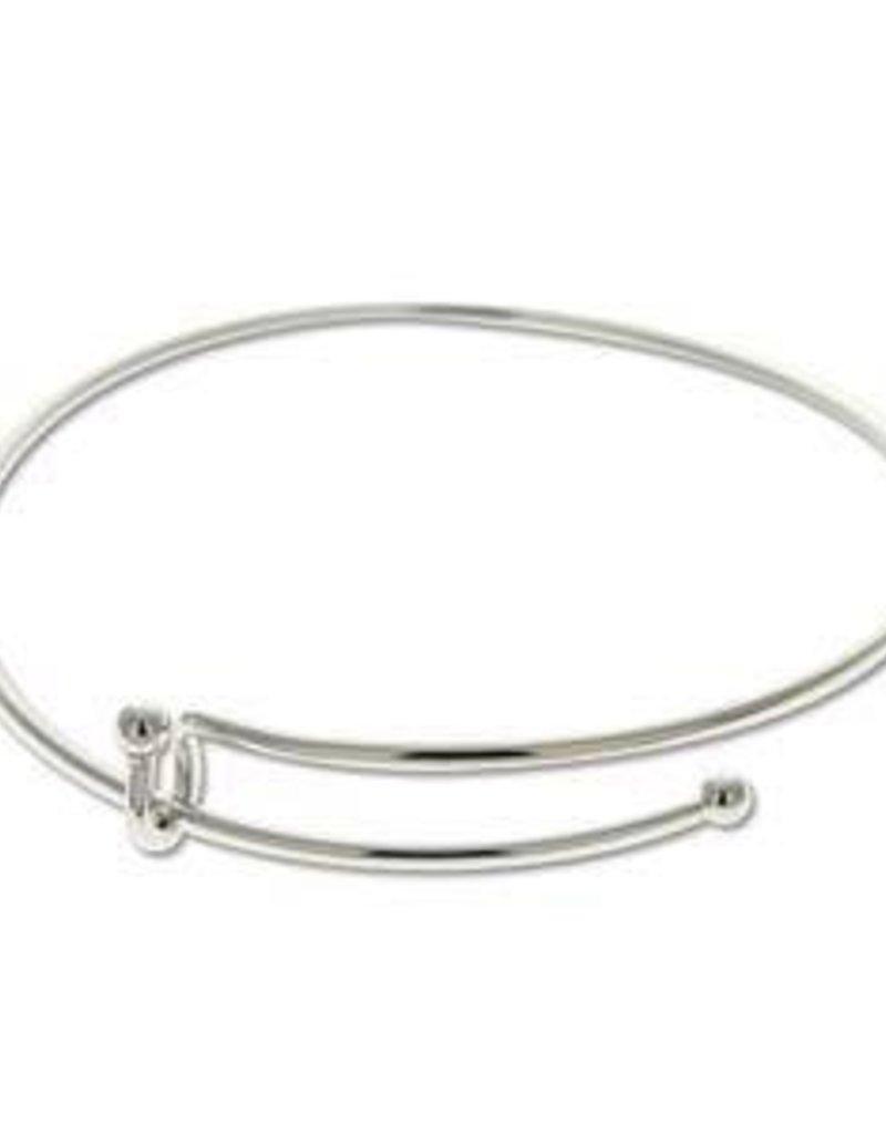 1 PC SP Expandable Wire Charm Bracelet