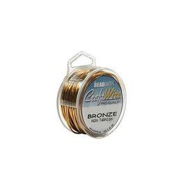 10 YD 20GA Craft Wire : Bronze