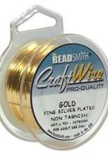 15 YD 26GA Non Tarnish Craft Wire : Gold