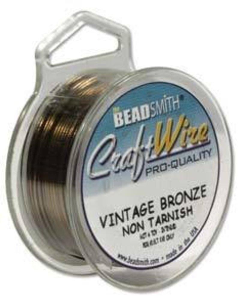 30 YD 26GA Craft Wire : Vintage Bronze