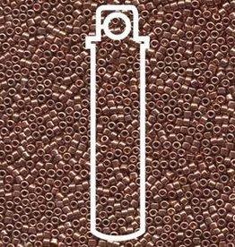 7 GM DB040 11/0 Delica : Bright Copper Plated (APX 1400 PCS)