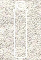 5 GM DB202 11/0 Delica : White Pearl Aurora Borealis (APX 1000 PCS)