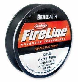 """50 YD 4 LB .005"""" Fireline : Crystal"""