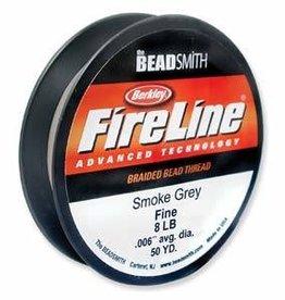"50 YD 8 LB .007"" Fireline : Smoke"
