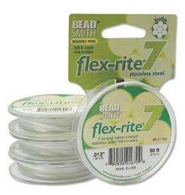 "30 FT .012"" Flex-Rite 7 Strand : Pearl"