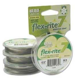 """30 FT .014"""" Flex-Rite 7 Strand : Clear"""