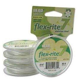 """30 FT .014"""" Flex-Rite 7 Strand : Pearl Silver"""