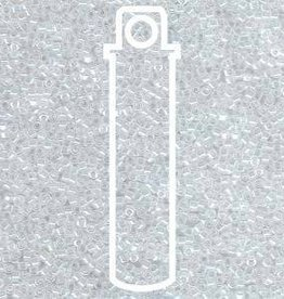 5 GM DB231 11/0 Delica : Lined Crystal/White Luster (APX 1000 PCS)