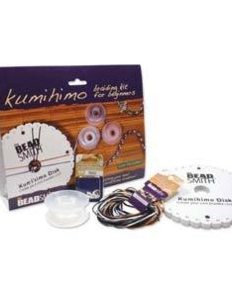 Beadsmith Kumihimo Starter Kit : Round Disk