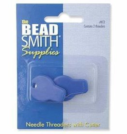 2 PC Needle Threader with Cutter