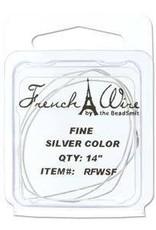"14"" Silver French Wire : Fine"