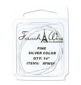 "14"" Silver French Wire : Fine"