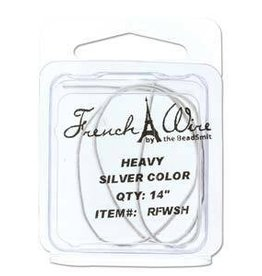 "14"" Silver French Wire : Heavy"