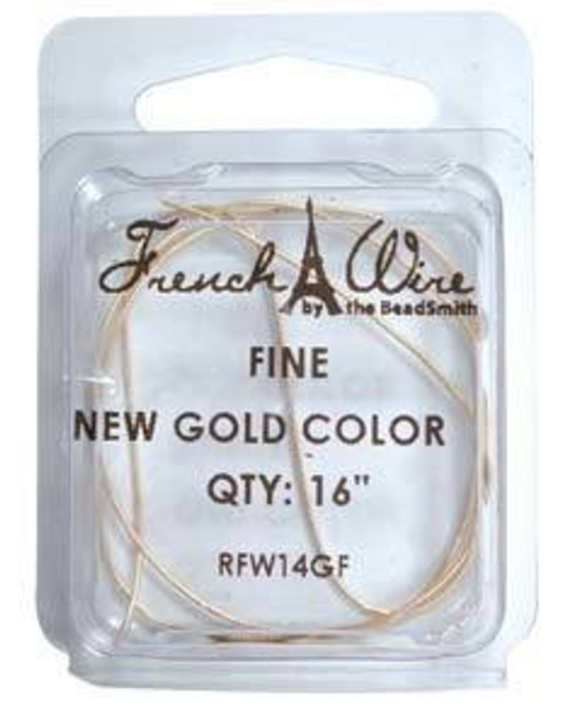 "16"" Gold French Wire : Fine"
