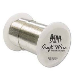 30 YD 24GA Non Tarnish Craft Wire : Silver