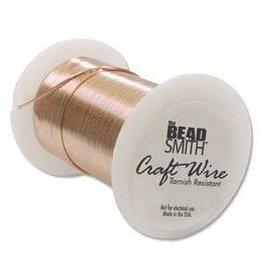 10 YD 18GA Non Tarnish Craft Wire : Copper
