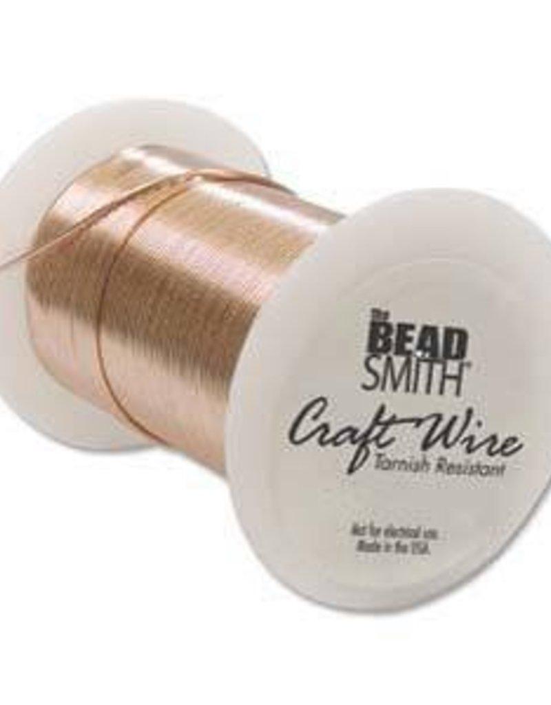 34 YD 26GA Non Tarnish Craft Wire : Copper