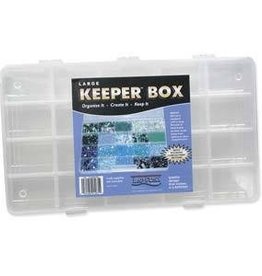 "Keeper Box 20 Compartment 13""x7.5"""