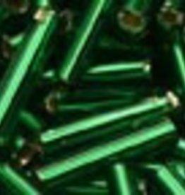 8 GM Toho Bugle #3 9mm : Silverlined Emerald (APX 180)