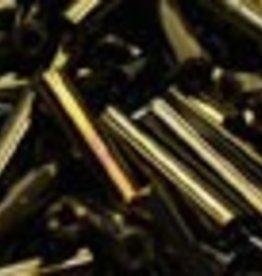 8 GM Toho Bugle #3 9mm : Brown Metallic Iris (APX 180)
