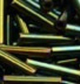 8 GM Toho Bugle #3 9mm : Green Metallic Iris (APX 180)