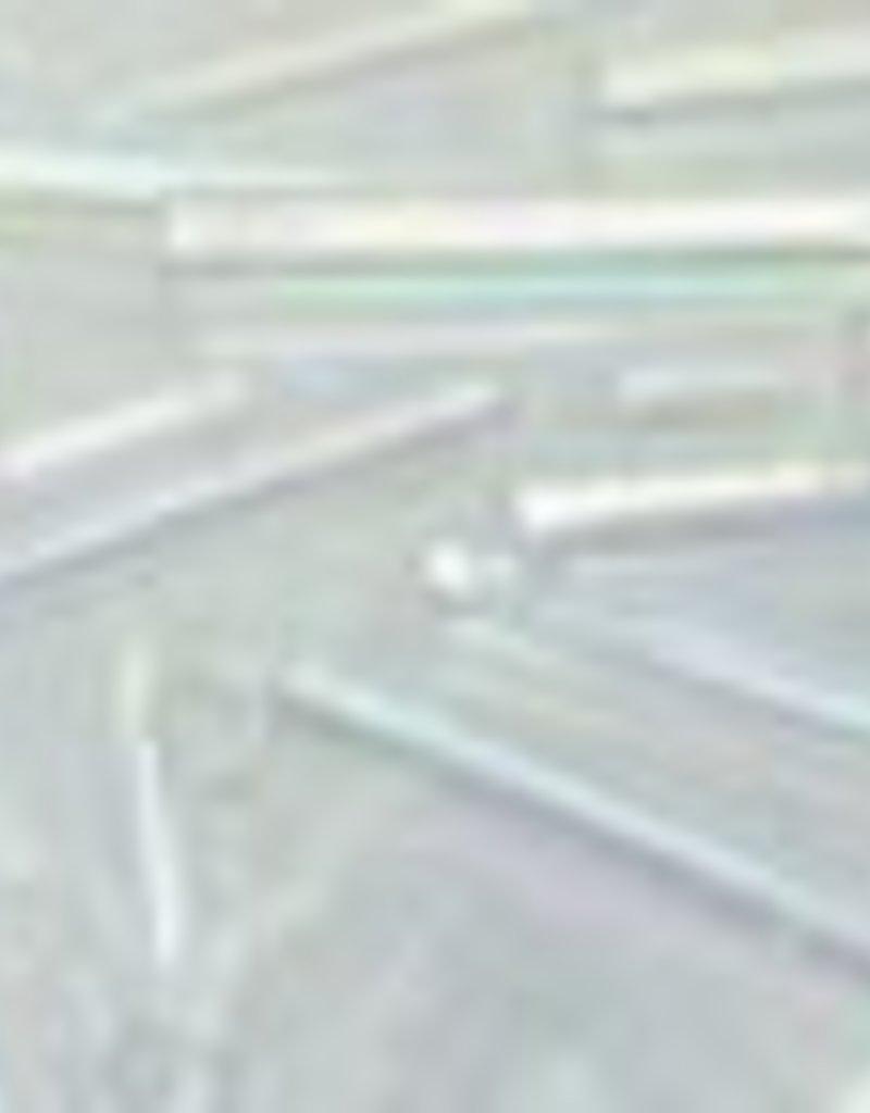 8 GM Toho Bugle #3 9mm : Crystal AB (APX 180)