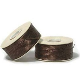 115 YD Size 0 Nymo : Brown