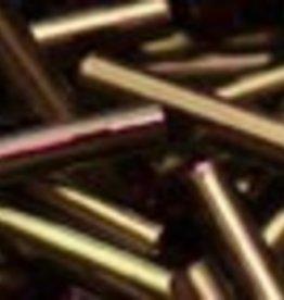 8 GM Toho Bugle #3 9mm : Raspberry Lined Olive (APX 180)