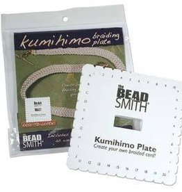 "6"" Square Kumihimo Disc English instruction"