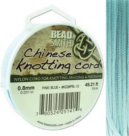 15 Meter .8mm Knotting Cord : Powder Blue