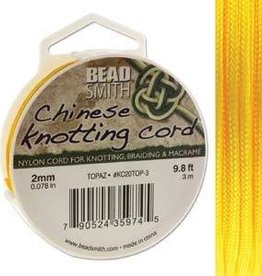 3 Meter 2mm Knotting Cord : Topaz