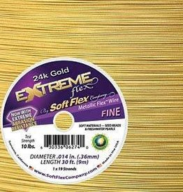 "30 FT .014"" Extreme Flex : 24KT Gold"