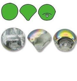 50 PC 6x5mm Mushroom : Crystal Vitrail