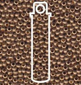 10 GM 6/0 Metal Seed Bead : Matte Gilding