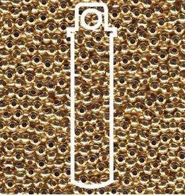 10 GM 6/0 Metal Seed Bead : Gilding