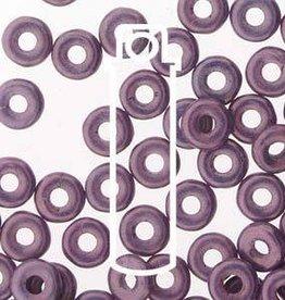 10 GM 3.8x1mm O Bead : Chalk White Lilac Vega Luster (APX 350 PCS)