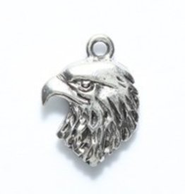 1 PC ASP 14x18mm Hawk Head Charm