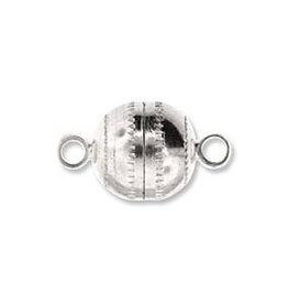 4 PC ASP 11x8mm Round Magnetic Clasp
