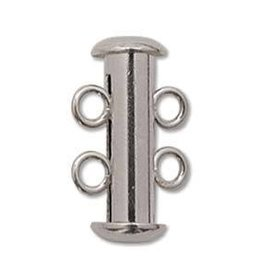 3 PC SP 16mm 2 Strand Tube Clasp