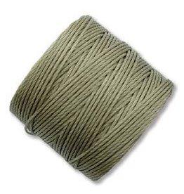 77 YD S-Lon Bead Cord : Khaki