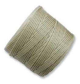 77 YD S-Lon Bead Cord : Light Khaki