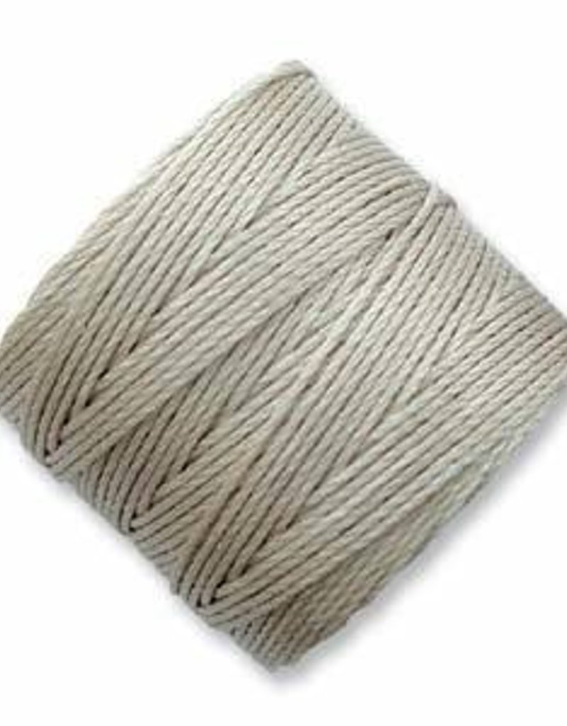 77 YD S-Lon Bead Cord : Light Grey