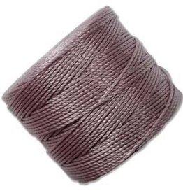 77 YD S-Lon Bead Cord : Dark Lavender
