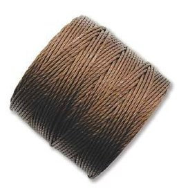 77 YD S-Lon Bead Cord : Brown